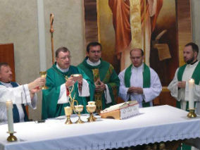 Installation of Father Vano